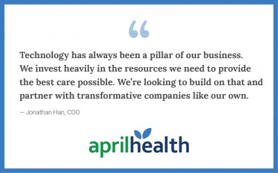 We're Looking to Invest in Pharmacy and Technology Innovation